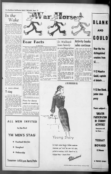 Daily Trojan, Vol. 36, No. 198, September 12, 1945
