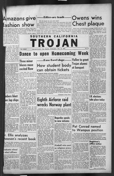 The Trojan, Vol. 35, No. 51, November 17, 1943