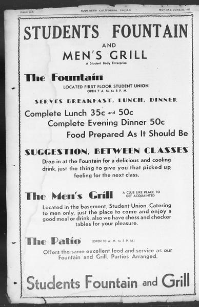 Southern California Trojan, Vol. 11, No. 1, June 20, 1932