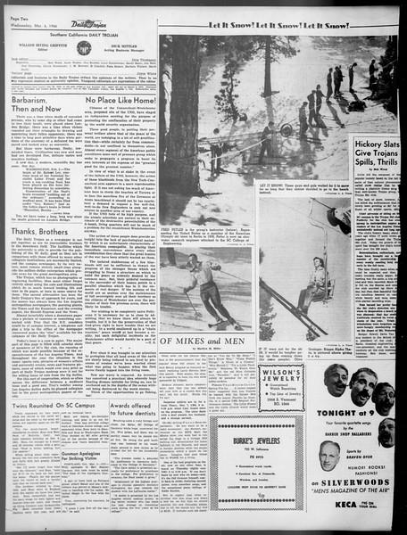 Daily Trojan, Vol. 37, No. 78, March 06, 1946