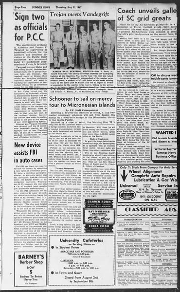 Summer News, Vol. 2, No. 23, August 21, 1947