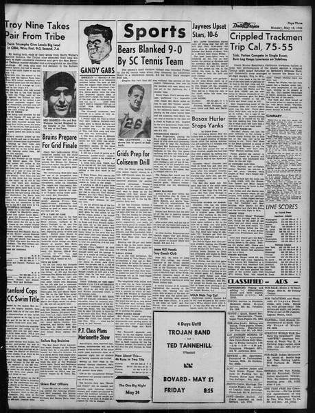Daily Trojan, Vol. 37, No. 126, May 13, 1946