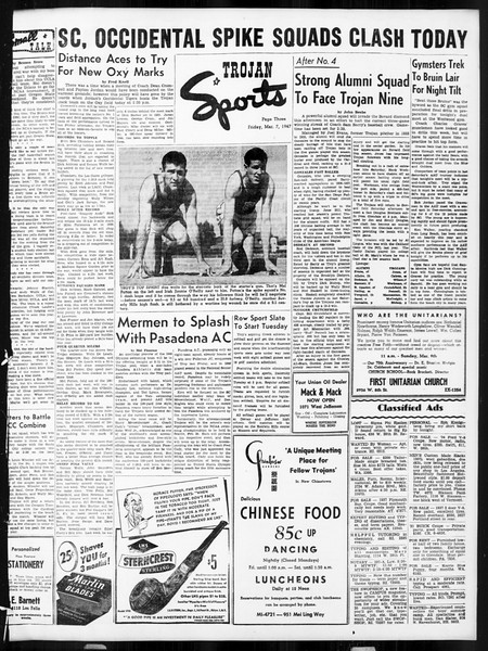 Daily Trojan, Vol. 38, No. 90, March 07, 1947