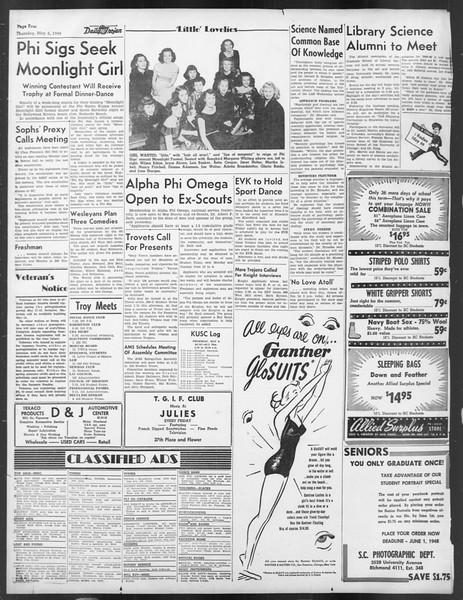 Daily Trojan, Vol. 39, No. 134, May 06, 1948