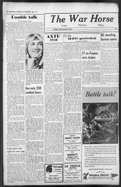 The Trojan, Vol. 35, No. 107, April 19, 1944