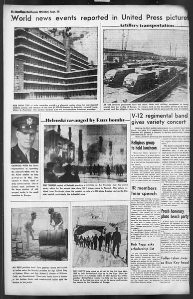 The Trojan, Vol. 35, No. 164, September 15, 1944