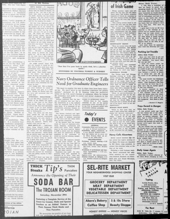 Daily Trojan, Vol. 33, No. 42, November 04, 1941