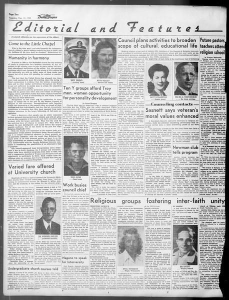 Daily Trojan, Vol. 37, No. 33, December 18, 1945