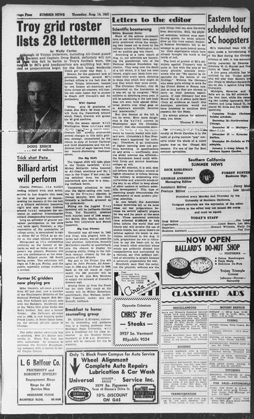 Summer News, Vol. 2, No. 21, August 14, 1947
