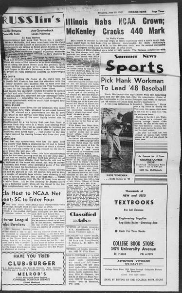 Summer News, Vol. 2, No. 1, June 23, 1947