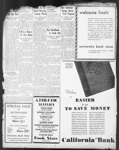 Daily Trojan, Vol. 24, No. 1, September 07, 1932