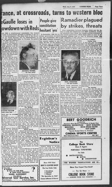Summer News, Vol. 2, No. 7, July 09, 1947