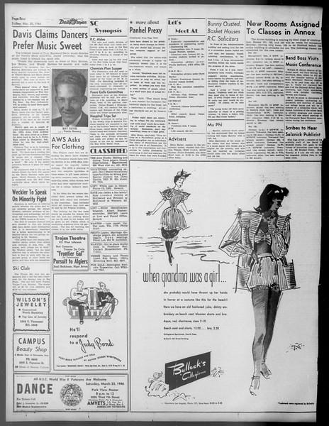 Daily Trojan, Vol. 37, No. 90, March 22, 1946