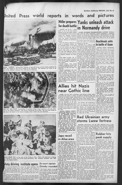 The Trojan, Vol. 35, No. 142, July 26, 1944