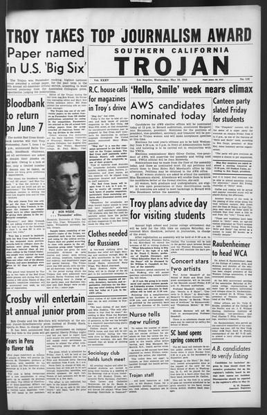 The Trojan, Vol. 35, No. 116, May 10, 1944