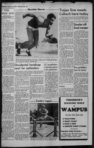 Daily Trojan, Vol. 34, No. 90, February 23, 1943