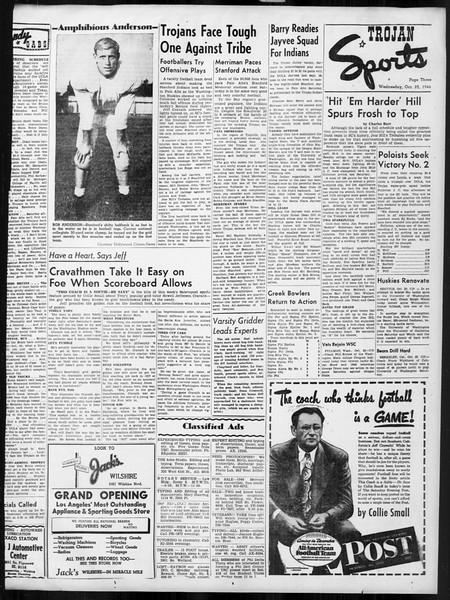 Daily Trojan, Vol. 38, No. 28, October 23, 1946