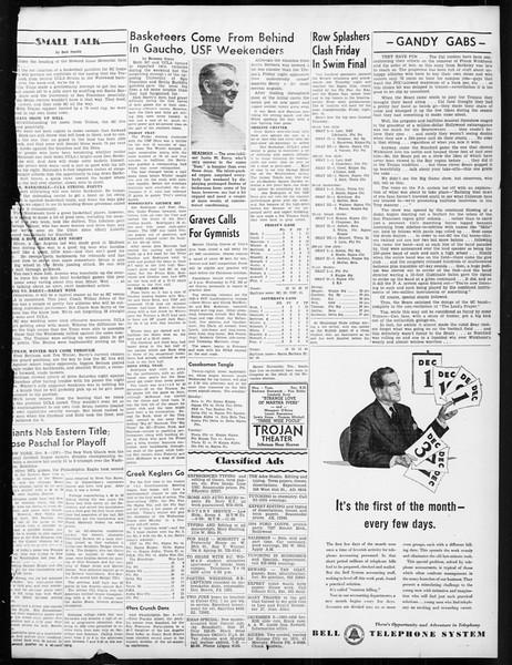 Daily Trojan, Vol. 38, No. 59, December 09, 1946