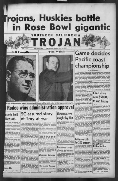 The Trojan, Vol. 35, No. 50, November 15, 1943