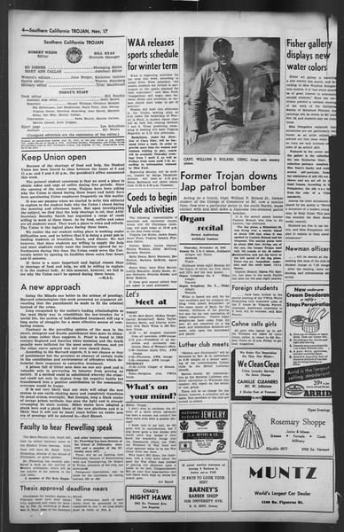The Trojan, Vol. 35, No. 51, November 17, 1943