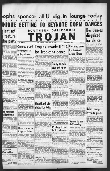 The Trojan, Vol. 35, No. 123, May 26, 1944