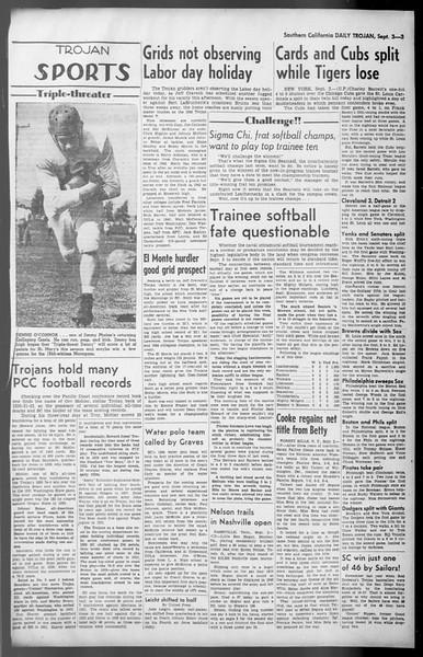 Daily Trojan, Vol. 36, No. 191, September 03, 1945