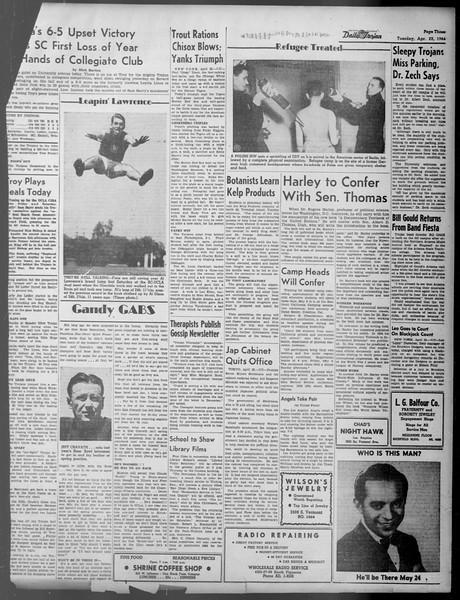 Daily Trojan, Vol. 37, No. 112, April 23, 1946