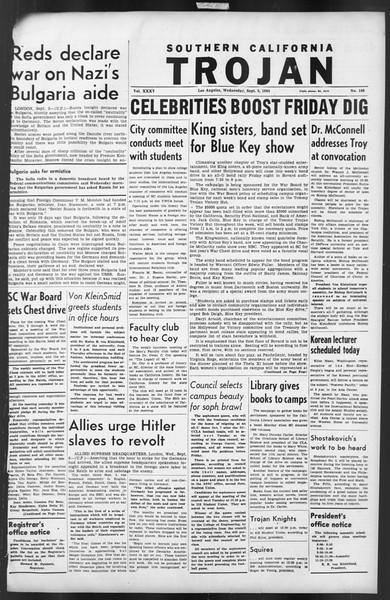 The Trojan, Vol. 35, No. 160, September 06, 1944