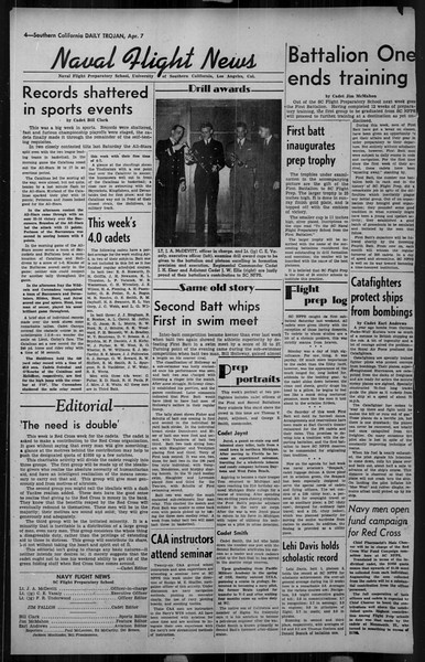 Daily Trojan, Vol. 34, No. 121, April 07, 1943