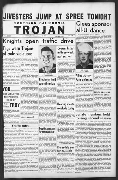 The Trojan, Vol. 35, No. 149, August 11, 1944