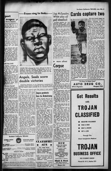 Southern California Trojan, Vol. 35, No. 10, July 26, 1943