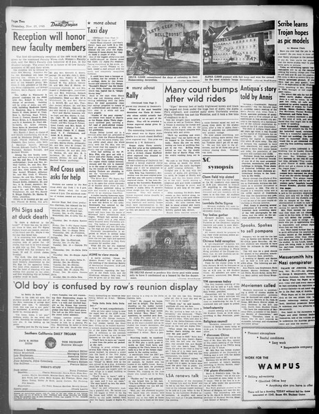 Daily Trojan, Vol. 37, No. 20, November 29, 1945