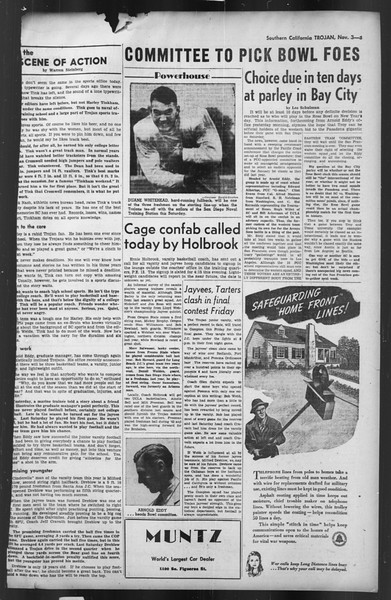The Trojan, Vol. 35, No. 45, November 03, 1943