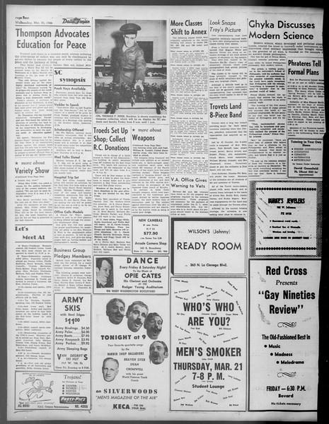 Daily Trojan, Vol. 37, No. 88, March 20, 1946