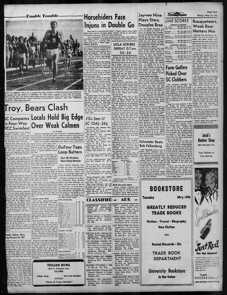 Daily Trojan, Vol. 37, No. 125, May 10, 1946