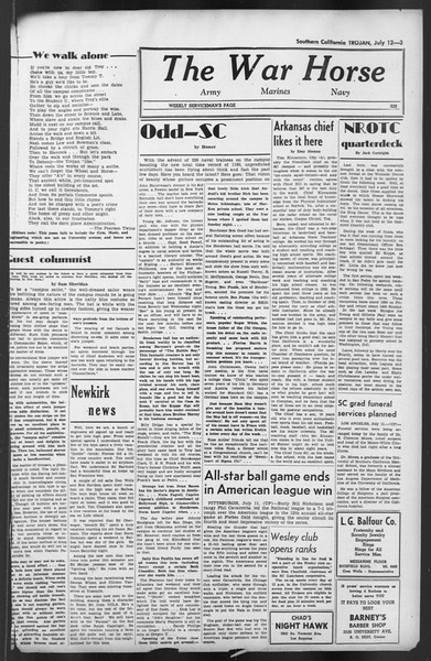 The Trojan, Vol. 35, No. 136, July 12, 1944