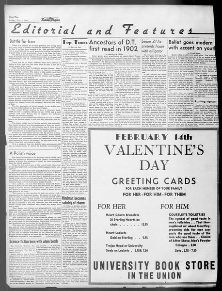 Daily Trojan, Vol. 37, No. 67, February 08, 1946