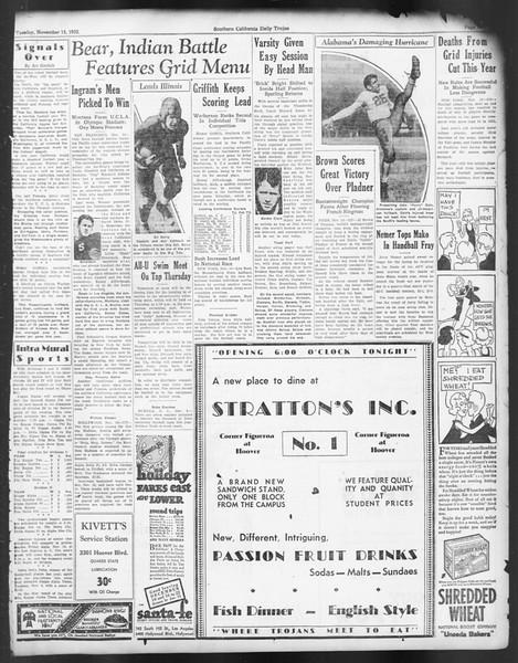 Daily Trojan, Vol. 24, No. 46, November 15, 1932