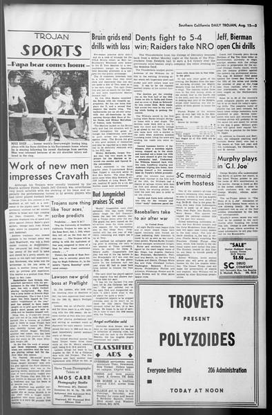 Daily Trojan, Vol. 36, No. 177, August 13, 1945