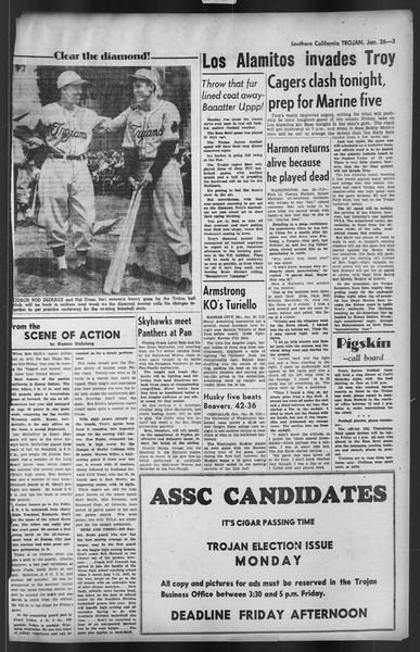 The Trojan, Vol. 35, No. 77, January 26, 1944
