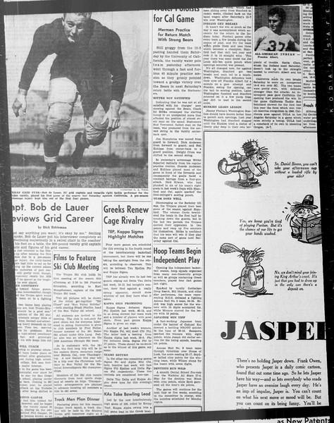 Daily Trojan, Vol. 33, No. 31, October 22, 1941