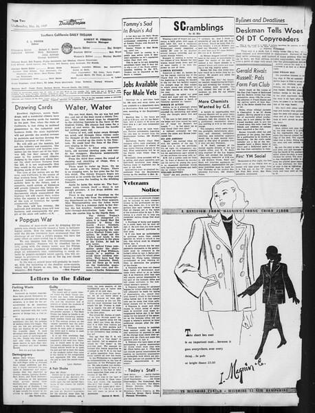 Daily Trojan, Vol. 38, No. 103, March 26, 1947