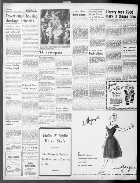 Daily Trojan, Vol. 37, No. 45, January 09, 1946