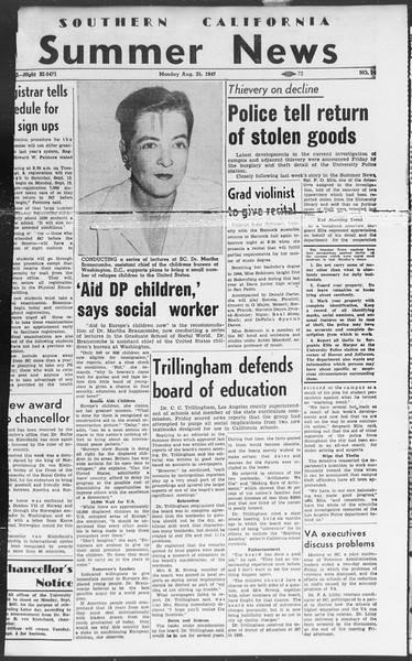 Summer News, Vol. 2, No. 24, August 25, 1947