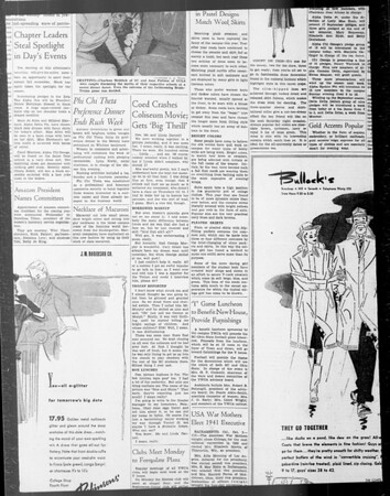 Daily Trojan, Vol. 33, No. 18, September 26, 1941