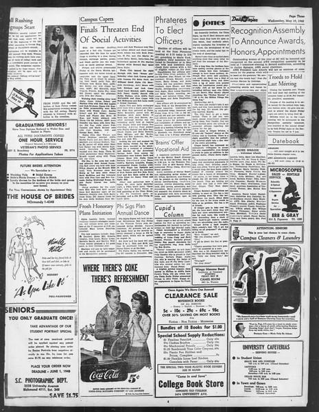 Daily Trojan, Vol. 39, No. 143, May 19, 1948
