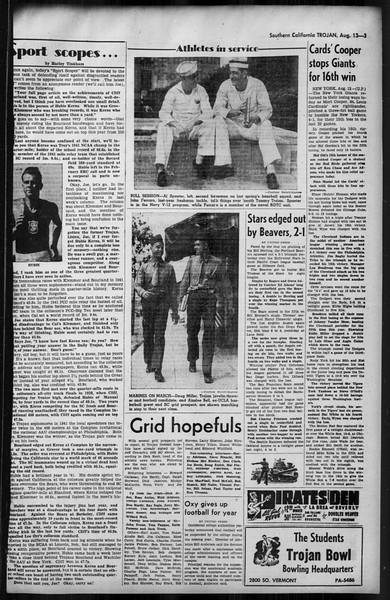 Southern California Trojan, Vol. 35, No. 18, August 13, 1943