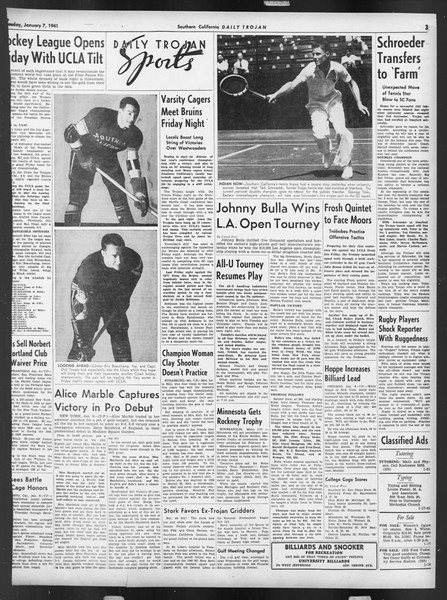 Daily Trojan, Vol. 32, No. 66, January 07, 1941