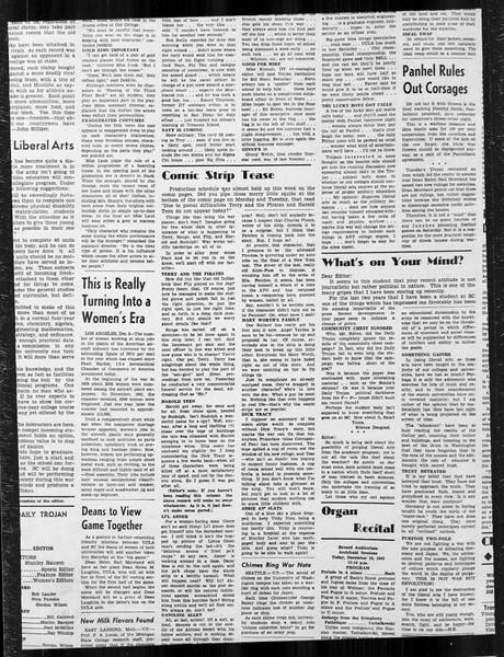 Daily Trojan, Vol. 34, No. 57, December 10, 1942