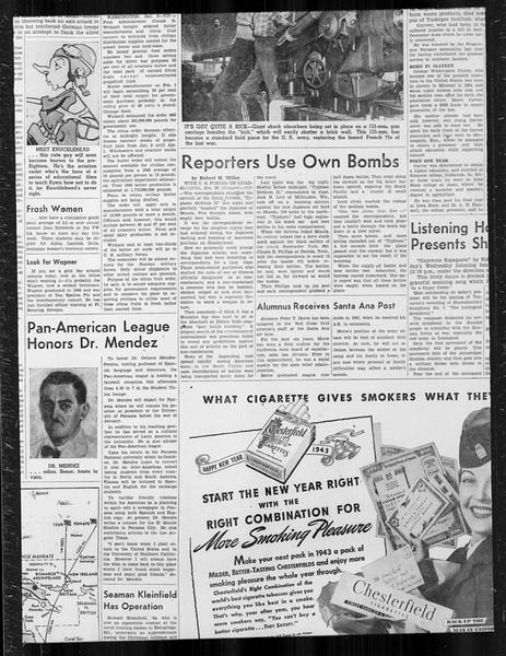 Daily Trojan, Vol. 34, No. 66, January 06, 1943